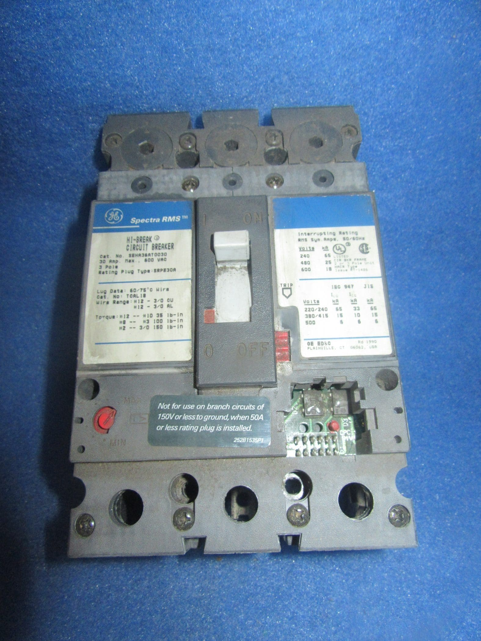 If Any Circuit Breaker Trips It Is A Sign That The Circuit Is