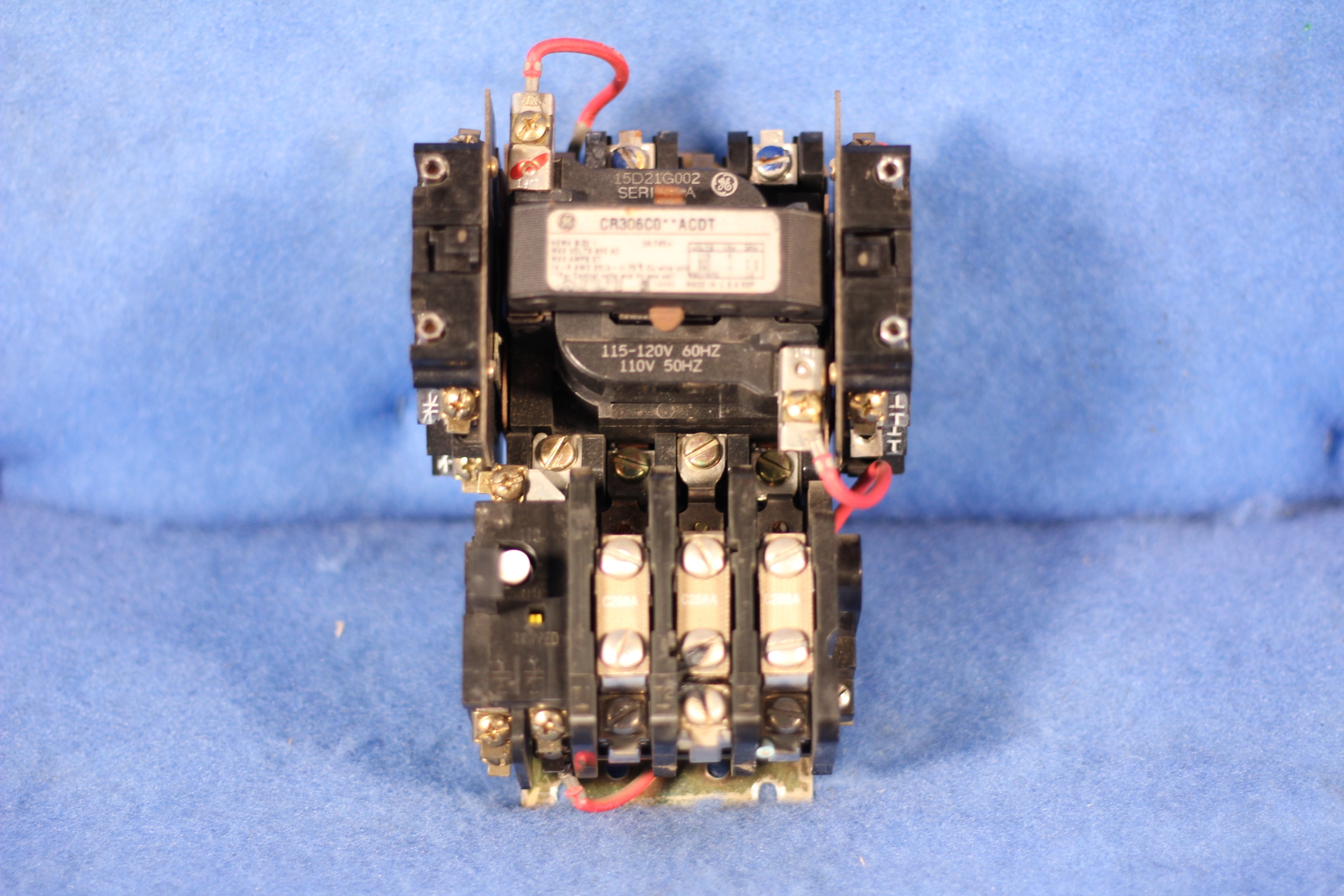 GE CR306 CO**ACDT Nema Size 1 Motor Starter 600 MAX V 27 MAX A 1 Year  Warranty | eBay eBay