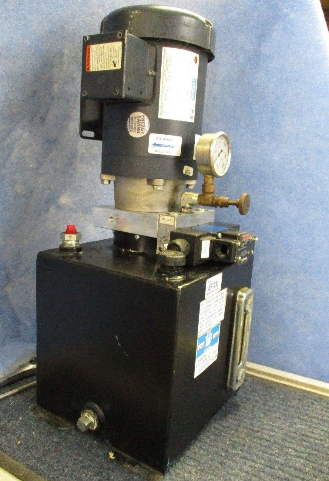 MONARCH M-4505-0114 Vertical Hydraulic Reservoir Pump & Motor 90 day  Warranty