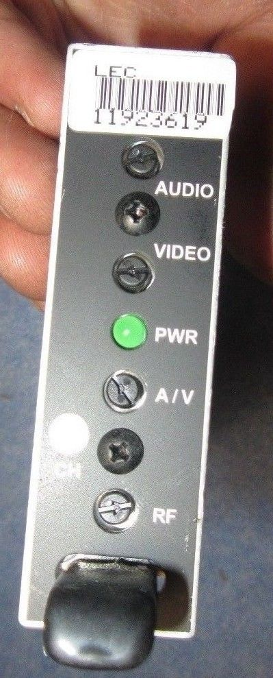 Drake VMM600 Fixed Channel Audio/Video A/V Modulator Plug-In Mod 1 year  warranty
