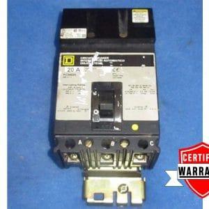 Square D FAB36100 WARRANTY Grey 100 AMP 600 VOLT I LINE Circuit Breaker